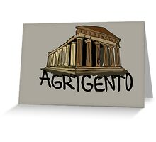 Agrigento Greeting Card