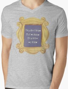 They Don't Know We Know Mens V-Neck T-Shirt