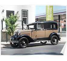 1930's Classic Car Poster