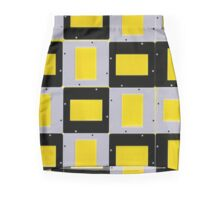 Abstract Mounts Pencil Skirt