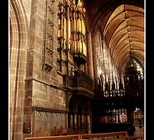 Chester Cathedral Interior IIII by Emma Wright