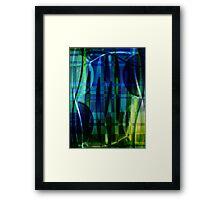Lightening Grass #1 Framed Print