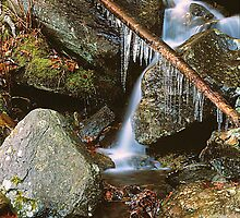 ICEY MOUNTAIN STREAM by Chuck Wickham