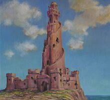 Lighthouse in Ruin by HDPotwin