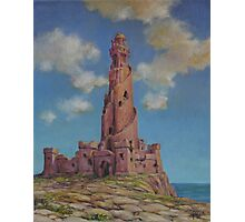 Lighthouse in Ruin Photographic Print