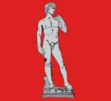 Michelangelo's David Kids Tee