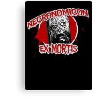The Necronomicon Ex Mortis Canvas Print