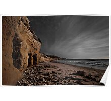 Beached Caves Poster
