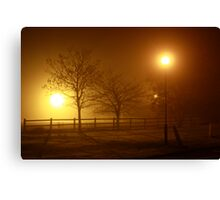 Foggy Evening in County Clare Canvas Print