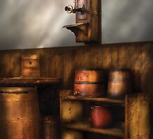 In the corner of the General Store  by Mike  Savad