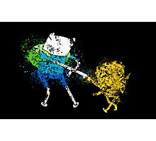 Finn and Jake Photographic Print