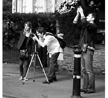 Photographing the Photographer Photographic Print