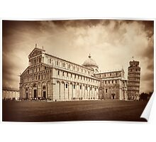 Duomo in Pisa Italy Poster