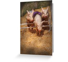 Getting past hurdles Greeting Card