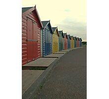 dawlish beach huts  Photographic Print