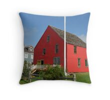 Red House, Shelburne. Throw Pillow