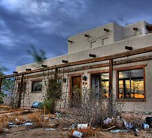 Abandoned Adobe by Sue  Cullumber