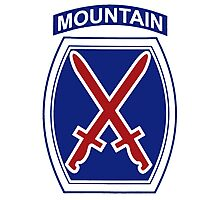 10th Mountain Division Photographic Print