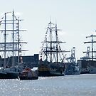 The Ships, Great Yarmouth Maritime Festival, September 2009 by Laura Kelk