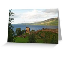 Urquhart Castle and Loch Ness Greeting Card