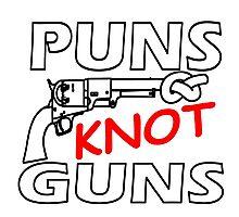 PUNS KNOT GUNS Photographic Print