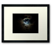 midnight pearl Framed Print
