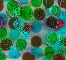 Quilled Paper Series 4 by Tamarra