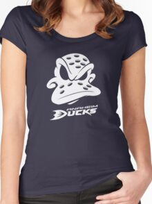 Mighty Ducks Anaheim Women's Fitted Scoop T-Shirt