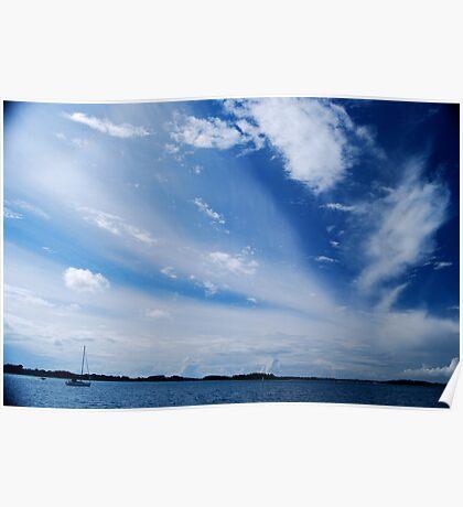 Le Golfe du Morbihan Poster