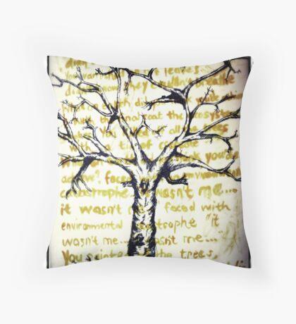 Treeology Throw Pillow