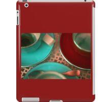 Cups & Saucer Sugar Cube iPad Case/Skin