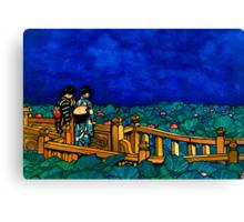 Japanese Print Master Copy Canvas Print