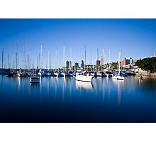 Sail Boats Rushcutters Bay Photographic Print