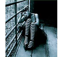 Wearing Feelings Photographic Print