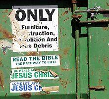 Dumpster Evangelism by Marguerite Foxon