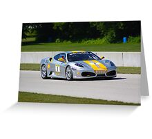 Ferrari Challenge 2009 Greeting Card