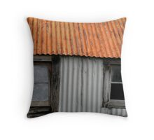 old woolshed Throw Pillow