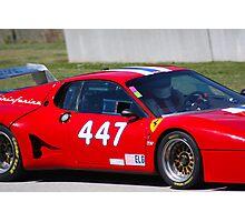 Ferrari Up Close Photographic Print