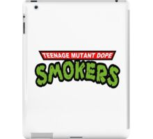 Teenage Mutant Dope Smokers iPad Case/Skin