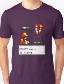 Pokemon Yellow - Rocket Battle Unisex T-Shirt