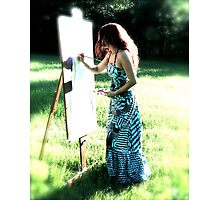 Life's Canvass Photographic Print