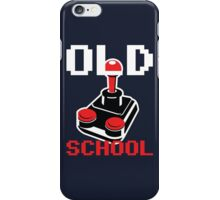 Retro Old School Gamer iPhone Case/Skin