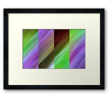 Lime Splice Framed Print