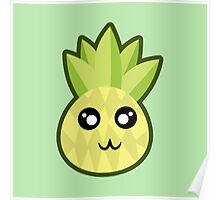 Kawaii Pineapple Poster