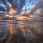 Henley Beach Reflections - HDR by Dale Allman
