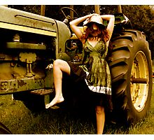 Harvesting Photographic Print