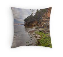 Coningham Cliffs Throw Pillow