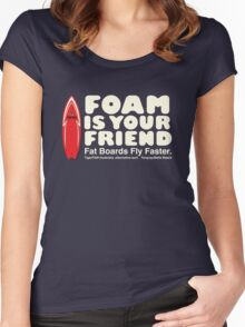 Foamie darks Women's Fitted Scoop T-Shirt