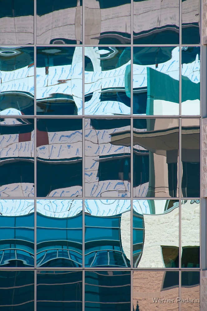 Reflection on a Building Site by Werner Padarin