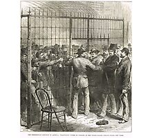 Fraud of the Century USA election 1876 Photographic Print